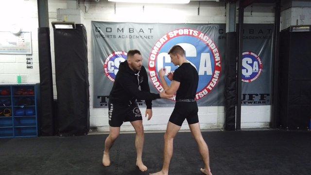 No Grip Osoto Gari aka The Zabit > Leg Chop Takedown [MMA]