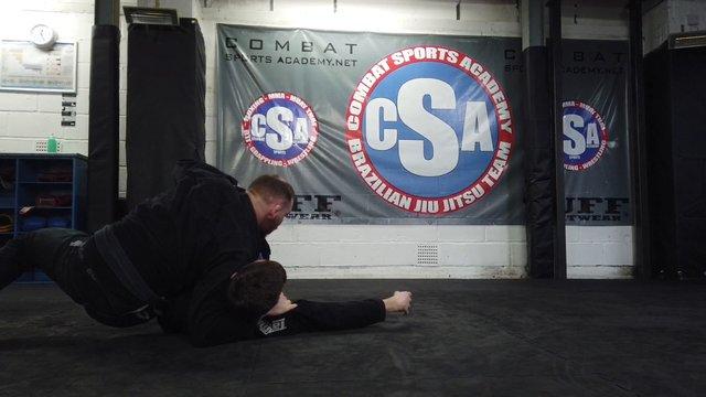Knee Cut Vs Half Guard Lapel Grip > Backstep Pass Vs  Lapel Grip > Folding Pass [Gi]