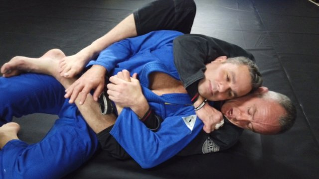 Collapsing Turtle > Chair Sit Back Take & Choke > Reverse Triangle [Gi]