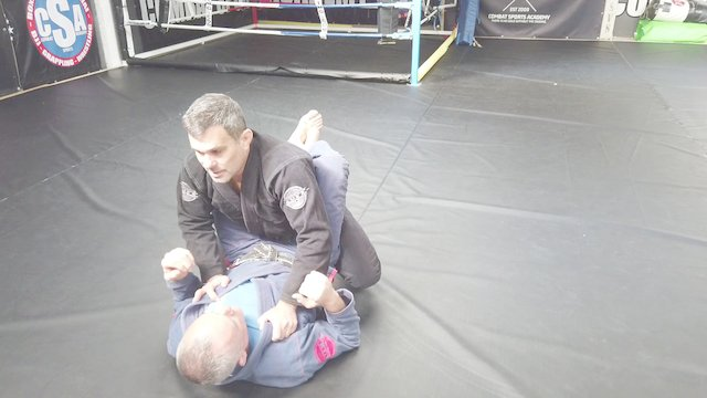 Standing Closed Guard Break