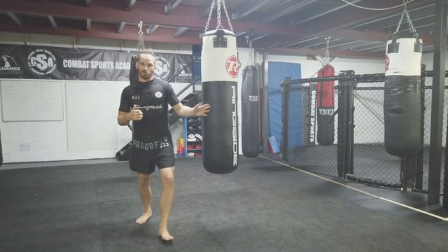 Bagwork For Beginners - Using Movement In Bagwork > Forward/Backward > Side To Side > Shifting & Galloping
