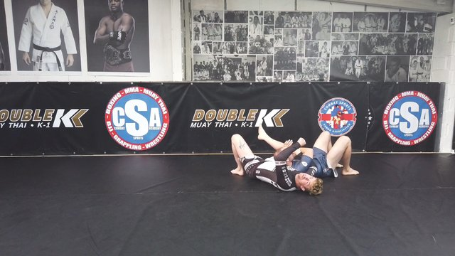 Standing Kimura Trap Vs Single Leg