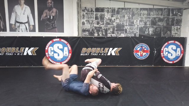 Standing Kimura Trap Vs Opponent Behind