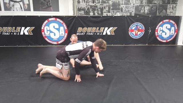 Rolling Kimura Trap Vs Advanced Half Guard Underhook