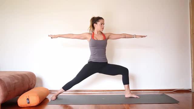 45 Minute Strength Building Yoga Video