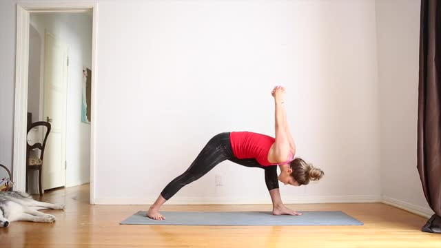15min Yoga Video for Chest