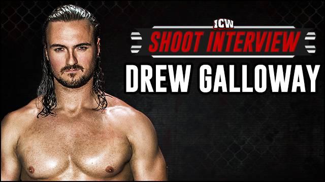 ICW Shoot Interview - Drew Galloway - 3rd September  2014