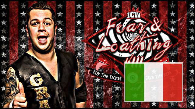 ICW Italia - Fear and Loathing VIII - Glasgow - 15 Novembre 2015