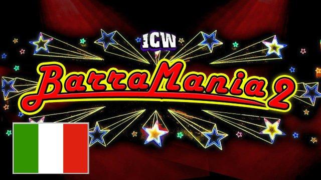 ICW Italia - Barramania II - Glasgow - 3 aprile 2016