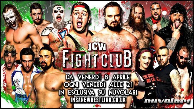 ICW Italia - Fight Club - ep01 parte01