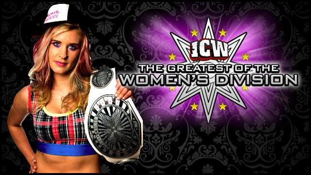 ICW The Greatest of the Women's Division - Volume One