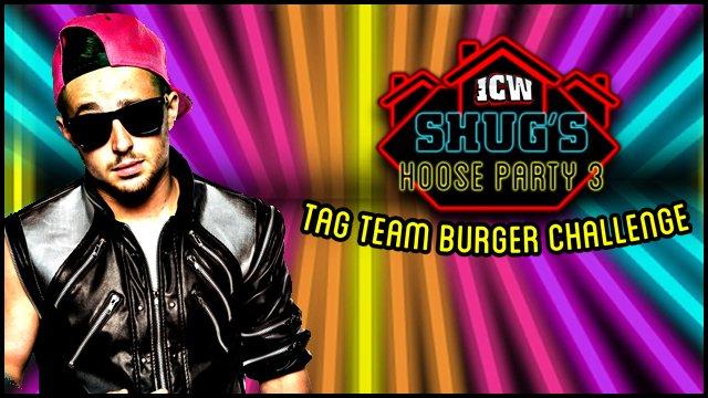 ICW Shug's Tag Team Burger Challenge 2016