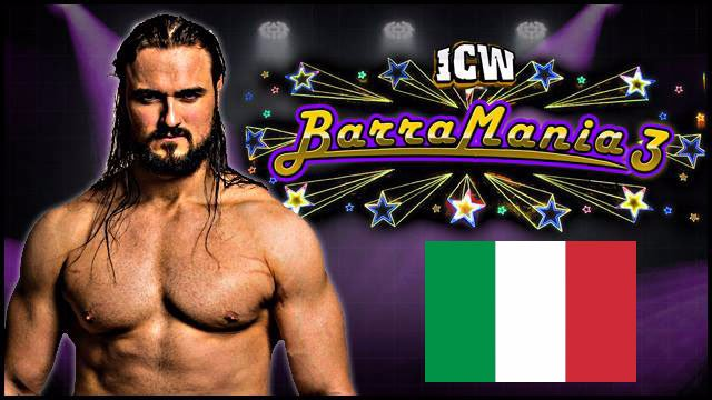 ICW Italia - Barramania 3 - Glasgow, April 16th