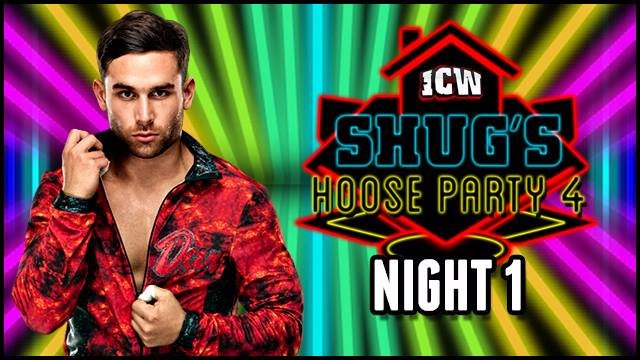 ICW Shug's Hoose Party IV - Night One - Glasgow - 29th July 2017