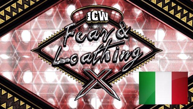 ICW Italia - Fear & Loathing X - Glasgow - 19th November 2017