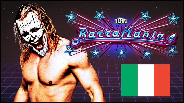 ICW Italia - Barramania 4 - 29th April 2018