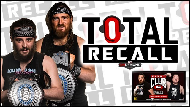 Total Recall - Krieger vs Rickey Shane Page