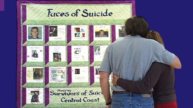 Faces of Suicide - The Making of the Central Coast Suicide Survivors Quilt
