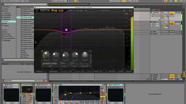 09 - Multi-band Compression On Low Mids