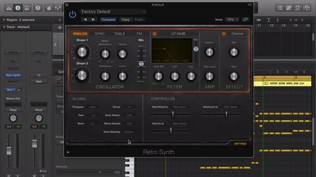 New Features In Retro Synth