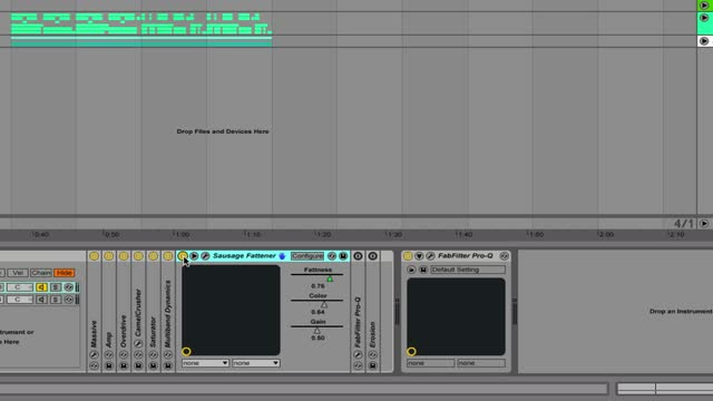 Disaprove Bass - 03 - Processing Fx Settings