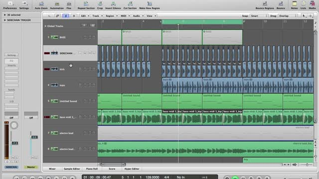 04 - Compressing The Lead & Bass Plus How To Build The Arp