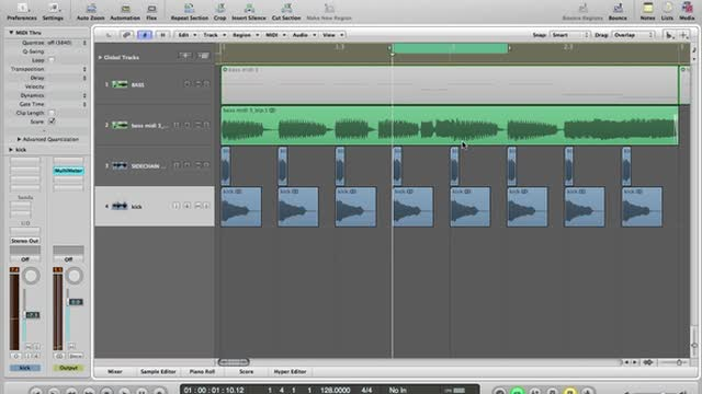 02 - Editing Bass, Sub And Side-chain