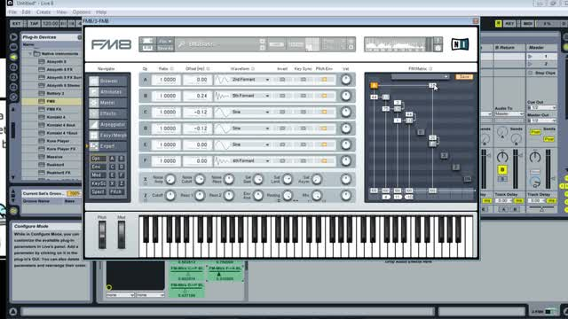 04 - Modulating Parameters With Fm8
