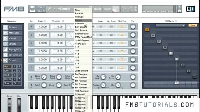 Fm8 - Dubstep Bass Design - 05