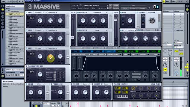01 - Creating A Synth In Massive