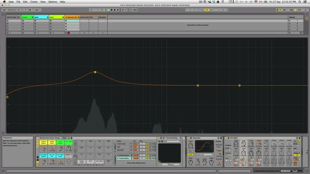 S01e06 - Snare Design Rack Processing Chain