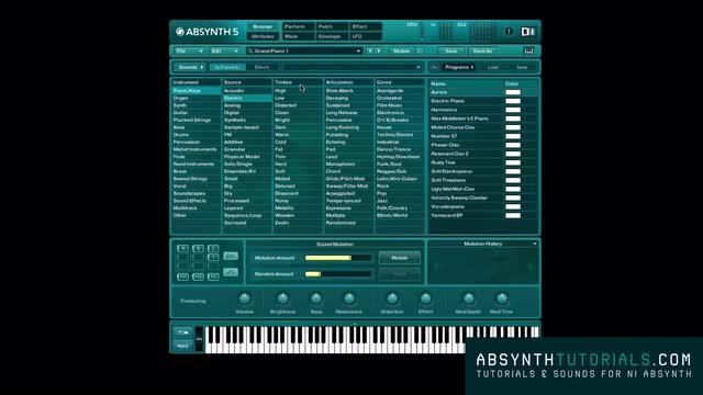 Absynth - Masterclass - 012