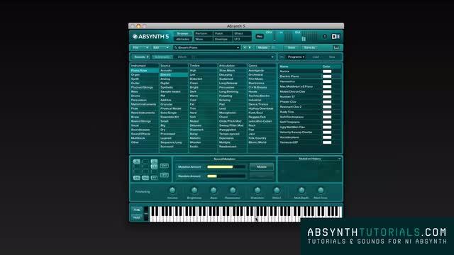 Absynth - Masterclass - 001