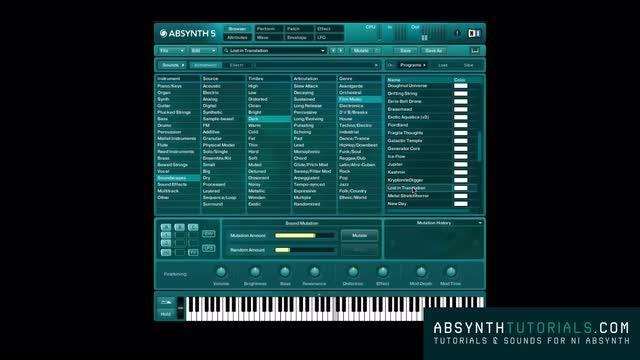 Absynth - Masterclass - 002