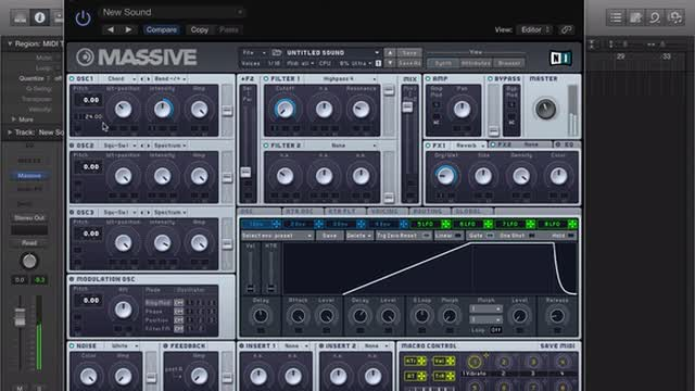 03 Massive - Sound Design With Wavetables