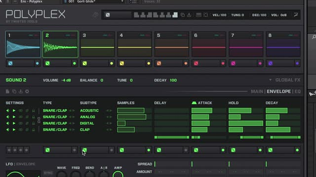 05 Polyplex / Drum Design - Resampling With Polyplex