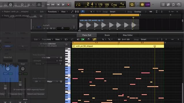 08 Resampled Beats With Midi Programming