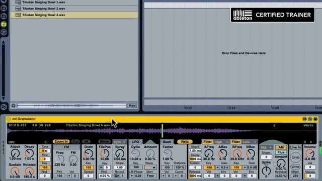 17 Introduction To Granular Synthesis