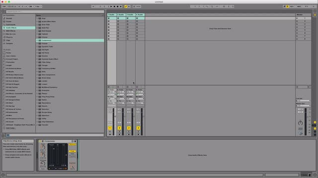 08 Ableton Live Tricks - Saving Default Project Settings