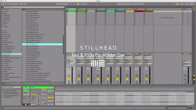 Ableton Live Tricks / Stillhead | ADSR Music Production Video