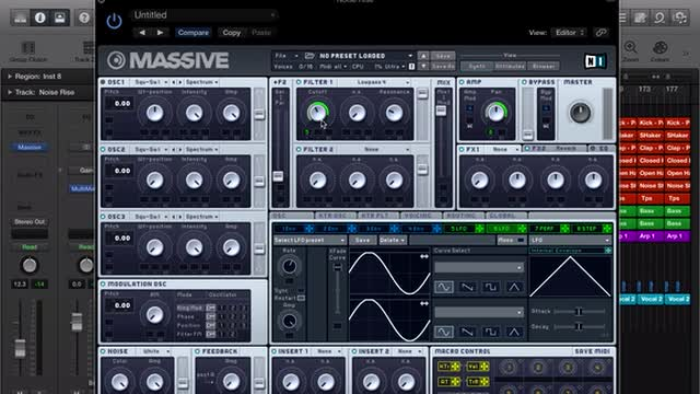 10 - Fx Design With Massive - Deep House (melodic) Production Course