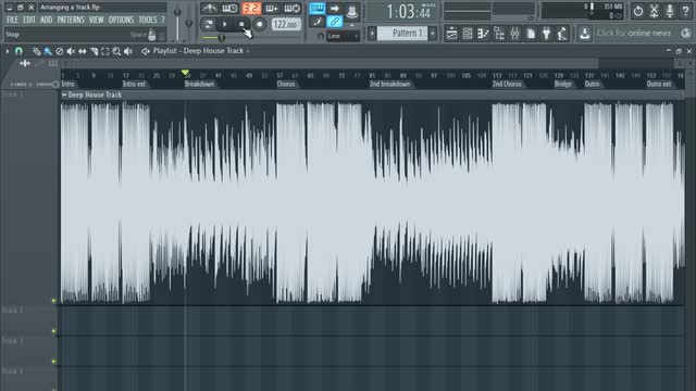 Arranging Using The Playlist