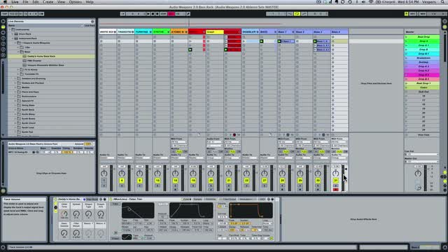 13 Razor Bass Edits Bass In Ableton Sampler