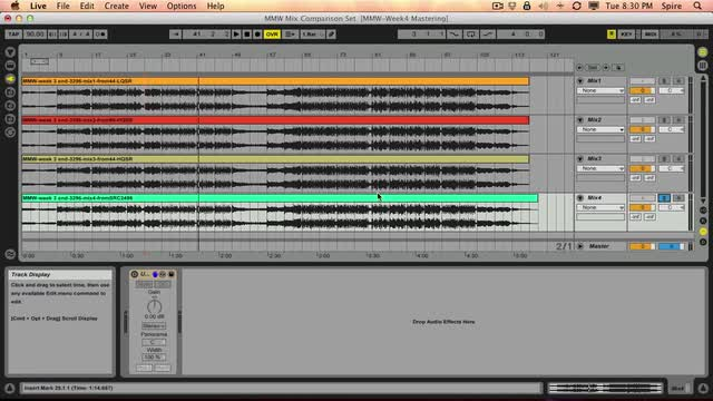 03a - How To Compare Mix-downs