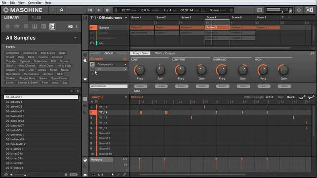 Adding Instruments To A Sampled Beat
