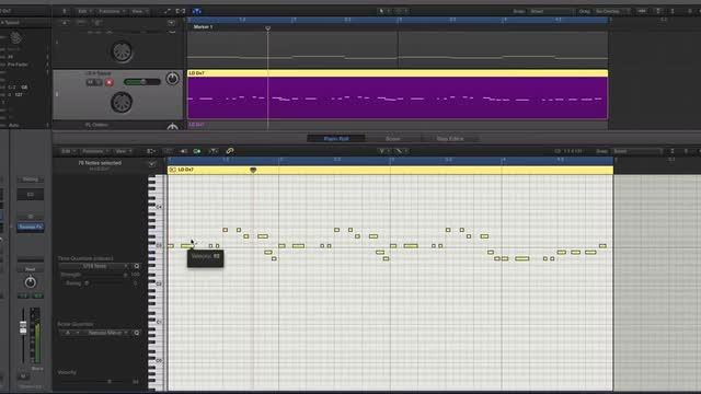 Piano Roll - Logic Pro Tip