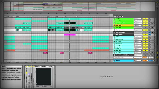 06 Drop Lead 2 - Mixing With Busses For A Better Mix