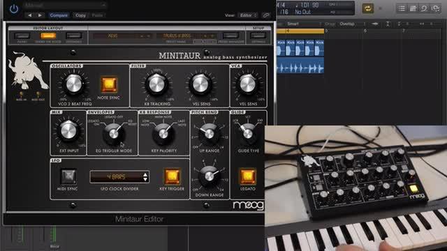 04 Moog Minitaur Editor