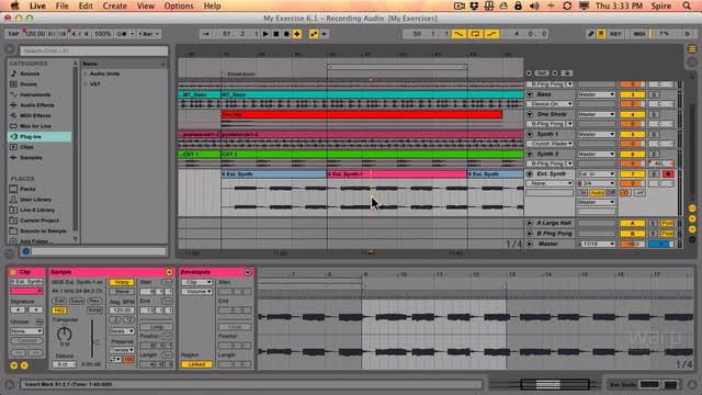 6.3 Recording In Arrangement View