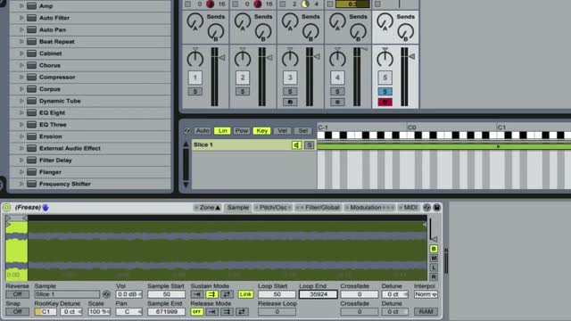 Bonus 01 Granular Style Effects In Sampler